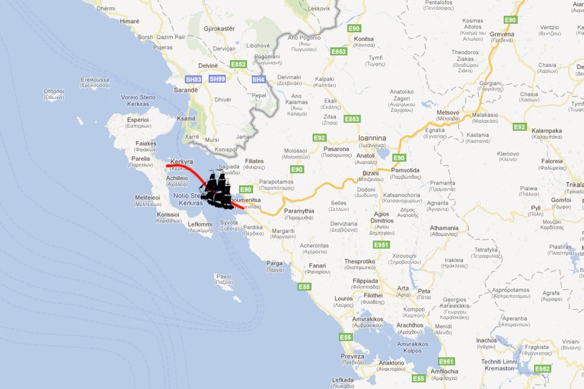 Ioannina to Corfu