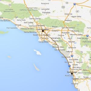 San Diego - Los Angles-1